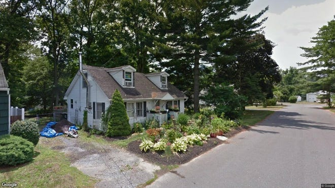 This Google Street View image shows the approximate location of 12 Crystal Ave{dot} in Plumsted. The property at this address changed hands in May 2019, when  Gold Quality Properties LLC  bought the property from  Phoebe Marut  for $85,000.