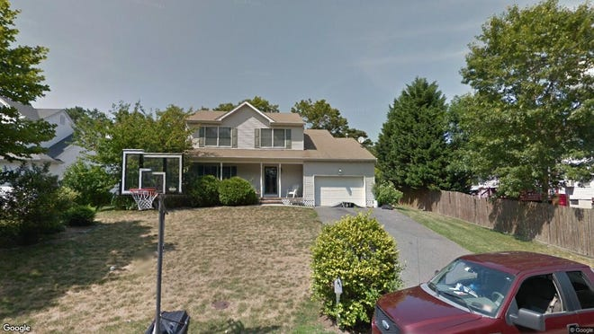 This Google Street View image shows the approximate location of 1162 Buccaneer Lane in Stafford. The property at this address changed hands in May 2019, when  Robert W Smedberg Jr{dot} and  Alexandra B Smedberg  bought the property from  Michael Zapata-Bonilla  for $300,000.