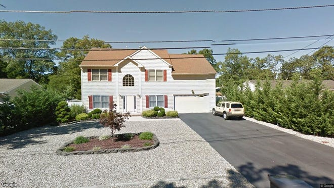 This Google Street View image shows the approximate location of 74 Iberis Lane in Toms River. The property at this address changed hands in June 2019, when William J Komar bought the property from Gregory and Hood L Brownstein for $345,000.