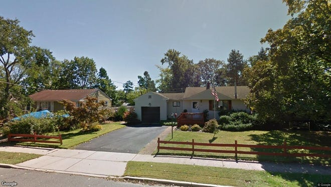 This Google Street View image shows the approximate location of 414 Maple St. in Lakehurst. The property at this address changed hands in June 2019, when Andrew and Jessica Wickham bought the property from Robert J Morris and S M Steinard for $180,000.