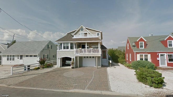 This Google Street View image shows the approximate location of 5 E. Dune Lane in Long Beach Township. The property at this address changed hands in June 2019, when Lawrence and Stephanie Steenvoorden bought the property from Edward T and Margaret T Kohlmeir for $1,085,000.