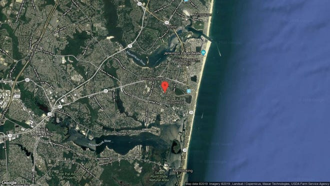 This aerial photo shows the approximate location of 1501 Hulse Road Unit 15 in Point Pleasant. The property at this address changed hands in June 2019, when John R and Stephanie Helm bought the property from Joseph W Hottendorf for $237,000.