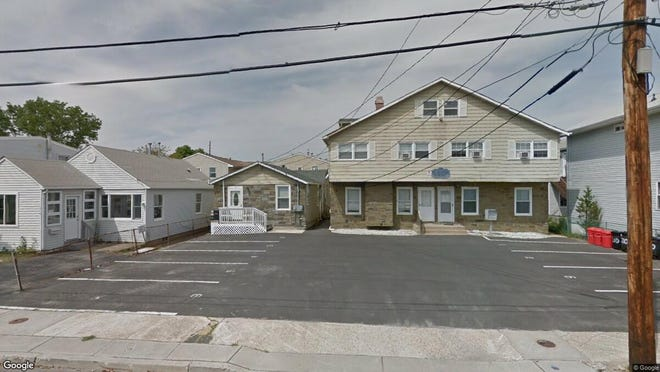 This Google Street View image shows the approximate location of 212-214 Sampson Ave. in Seaside Heights. The property at this address changed hands in June 2019, when Steven C and Kelly C Pierce bought the property from Carmen Georgy for $122,500.