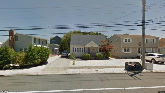 This Google Street View image shows the approximate location of 1112 N. Central Ave. in Surf City. The property at this address changed hands in June 2019, when Megan Smith bought the property from G Mcmanimon, B Mcmanimon, T G Mcmanimon, J P Mcmanimon and E Mcmanimon for $540,000.