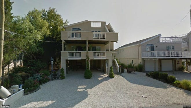 This Google Street View image shows the approximate location of 234 N. 22nd St. in Surf City. The property at this address changed hands in June 2019, when Christopher and Antonella Lia bought the property from Michael C and Kathleen A Nudo for $850,000.