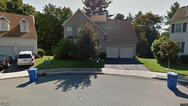 This Google Street View image shows the approximate location of 7 Hatfield Court in Montgomery. The property at this address changed hands in March 2019, when Ketul Y Raval and Keyuri A Dhebar bought the property from Zhe-Sheng Chen and Dong Hua Yang for $585,000.