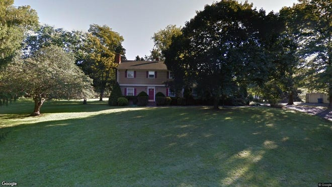 This Google Street View image shows the approximate location of 20 Woodward Drive in Montgomery. The property at this address changed hands in April 2019, when Trevor David and Sara Catherine Shaw bought the property from Lori A. Exc Kulp for $535,000.