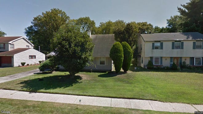This Google Street View image shows the approximate location of 58 Sylvan Lane in Willingboro. The property at this address changed hands in April 2019, when 58 Sylvan LLC bought the property from Ruby G Salley for $102,000.