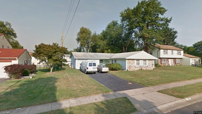 This Google Street View image shows the approximate location of 38 Temple Lane in Willingboro. The property at this address changed hands in May 2019, when Ehab Alsayed bought the property from Thomasina Phillips and Owen Burwell for $142,000.