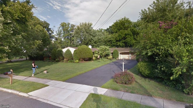 This Google Street View image shows the approximate location of 404 Garden State Drive in Cherry Hill. The property at this address changed hands in May 2019, when Kamilla and Zeltser Garry Mishiyeva bought the property from Ada Feiwus- and Harvey Richards for $245,000.