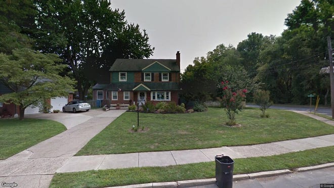This Google Street View image shows the approximate location of 1600 Haverford Road in Cherry Hill. The property at this address changed hands in June 2019, when John and Christine Petre bought the property from Susan M Poyatt and John Poyatt Jr. for $308,500.
