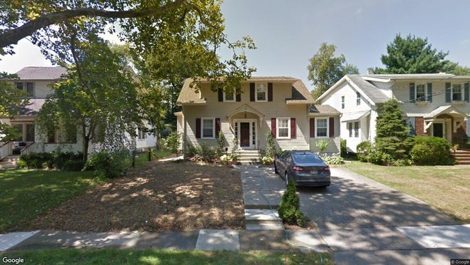 This Google Street View image shows the approximate location of 14 Tenth Ave. in Haddon Heights. The property at this address changed hands in June 2019, when Lauren G and Haslam Brendan Fritsky bought the property from Thomas S and Laskodi Judith Mccurdy for $330,000.