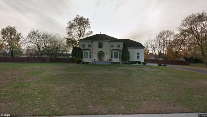 This Google Street View image shows the approximate location of 15 Marathon Drive in Woolwich. The property at this address changed hands in May 2019, when Karen Bukics and Michael W Hooven bought the property from Chris Ekmekjian for $385,000.