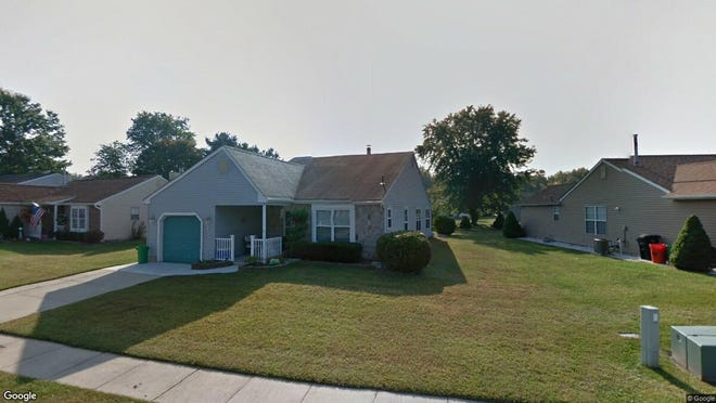 This Google Street View image shows the approximate location of 7 Niland Lane in Deptford. The property at this address changed hands in May 2019, when Pamela Reed bought the property from Joseph W Muldoon and Mary T Dec for $190,000.