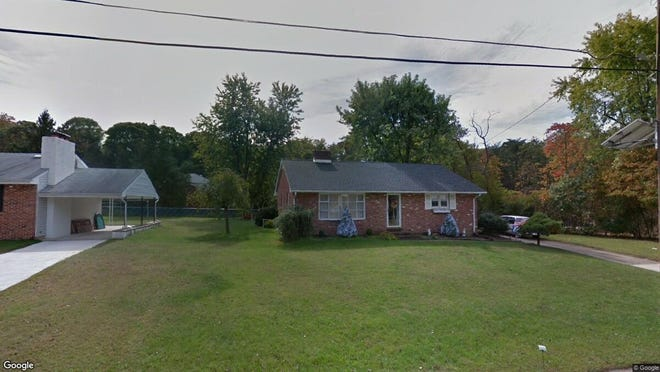 This Google Street View image shows the approximate location of 1885 Little Drive in Deptford. The property at this address changed hands in May 2019, when Craig and Judith Marshall bought the property from Rita Odellia Bowie for $150,000.