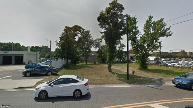 This Google Street View image shows the approximate location of 1388 Delsea Drive in Deptford. The property at this address changed hands in May 2019, when Center Street Enterprises LLC bought the property from Phyllis G Budd for $25,000.