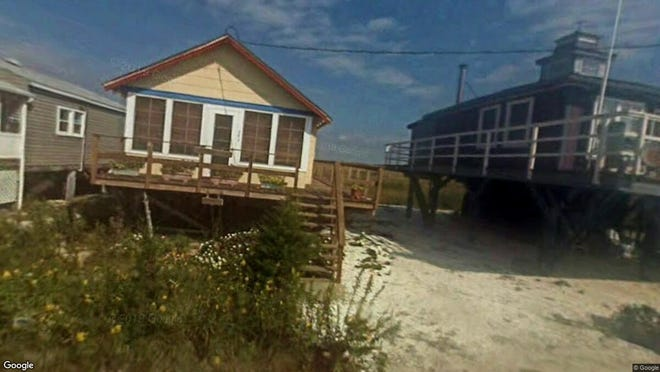 This Google Street View image shows the approximate location of 293 Cove Road in Downe. The property at this address changed hands in May 2019, when Frank B and Kelly A Kallop bought the property from William H Mccarroll for $65,000.