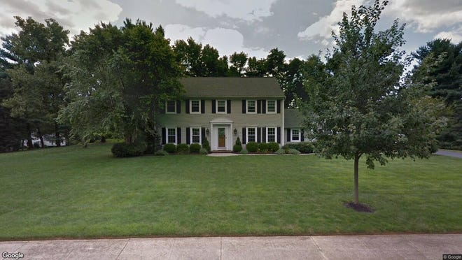 This Google Street View image shows the approximate location of 3 Mohican Drive in Middletown. The property at this address changed hands in May 2019, when Stephen and Marian Cara  bought the property from Jeffrey and Mandy Yachmetz  for $835,000.