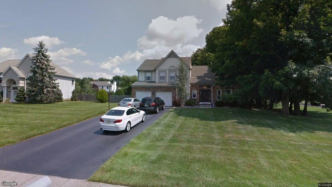This Google Street View image shows the approximate location of 40 Essex Circle in Manalapan. The property at this address changed hands in June 2019, when  Steve Beytenbrod and  Victoria Ziskind  bought the property from Jeremy P and Kristy L White  for $661,000.
