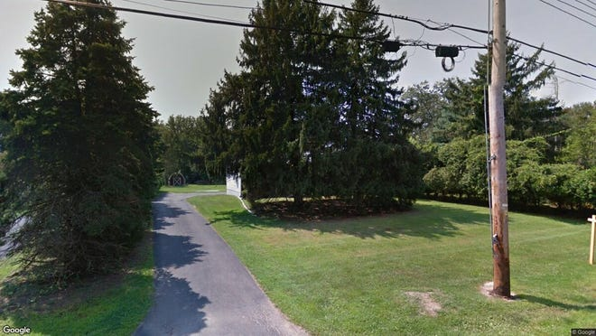 This Google Street View image shows the approximate location of 79 Tracy Station Road in Manalapan. The property at this address changed hands in June 2019, when Thomas J and Tina Gussett bought the property from Robert Helle Jr. for $242,000.