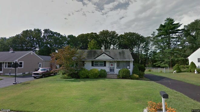 This Google Street View image shows the approximate location of 108 Hemlock Drive in Neptune. The property at this address changed hands in May 2019, when Morgan A Megill bought the property from Clare M Freda and James H Kirms for $276,000.