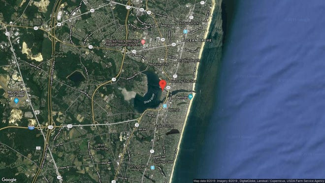 This aerial photo shows the approximate location of 113 Seaview Court in Neptune. The property at this address changed hands in April 2019, when Emily A Krause bought the property from Sylvia E Moeller and Barbara Ausiello for $545,000.