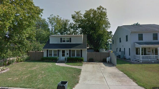 This Google Street View image shows the approximate location of 805 Greenwood Drive in Spring Lake Heights. The property at this address changed hands in May 2019, when Kevin S and Francesca A Preston bought the property from Robert C and Casey M Booth for $499,000.