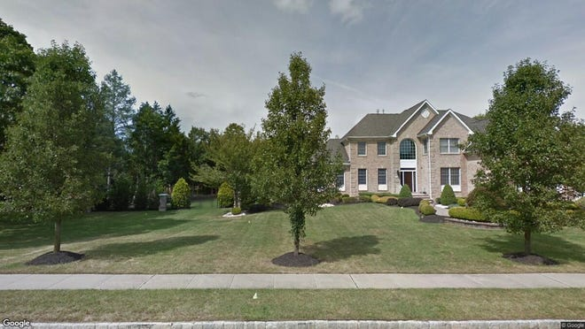 This Google Street View image shows the approximate location of 1332 Millennium Court in Toms River. The property at this address changed hands in March 2019, when  Mina Deutsch  bought the property from Michael and Rebecca Reilly  for $850,000.