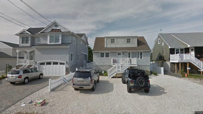 This Google Street View image shows the approximate location of 194 Pershing Blvd{dot} in Lavallette. The property at this address changed hands in March 2019, when Russell and Mary Beth Remy  bought the property from Charles A and Danielle Shefsky  for $799,000.