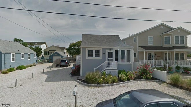This Google Street View image shows the approximate location of 104 Pennsylvania Ave{dot} in Lavallette. The property at this address changed hands in March 2019, when  Michele Andre  bought the property from Laura and Palmisano S Stewart and others  for $650,000.