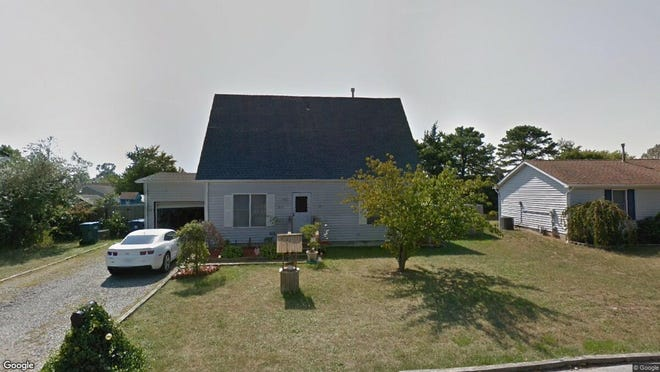 This Google Street View image shows the approximate location of 417 National Union Blvd{dot} in Little Egg Harbor. The property at this address changed hands in May 2019, when Bruce and Christina Stranahan  bought the property from Joshua D and Linda A Peterson  for $199,900.