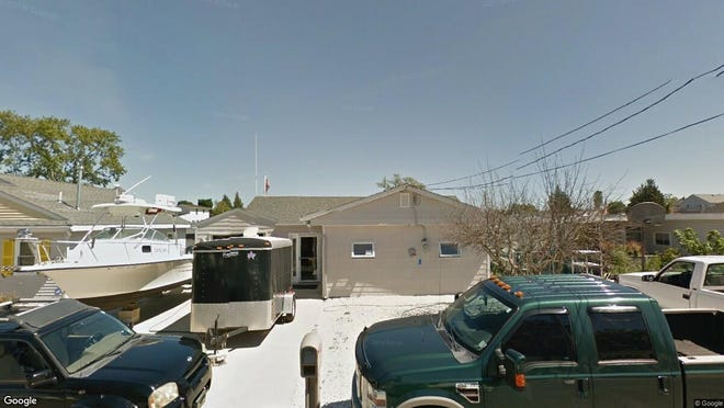 This Google Street View image shows the approximate location of 57 W{dot} Anchor Drive in Little Egg Harbor. The property at this address changed hands in May 2019, when John and Ginna Festa  bought the property from  Scott Day  for $275,000.