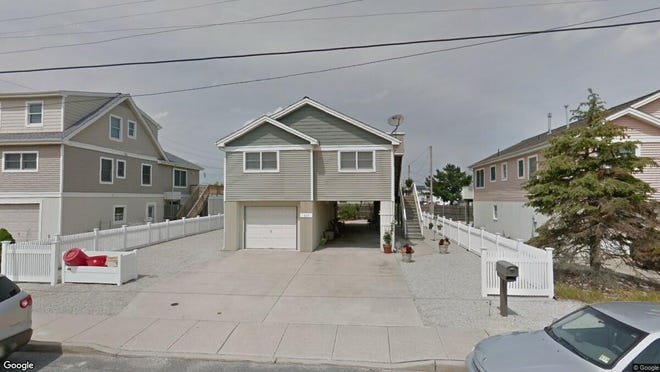 This Google Street View image shows the approximate location of 117 W{dot} Seventh St{dot} in Ship Bottom. The property at this address changed hands in April 2019, when Armen and Mary Kahwajian  bought the property from  Ann M Doherty ,  D L Kaune  and others  for $600,000.