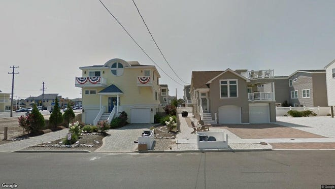 This Google Street View image shows the approximate location of 104 W{dot} 25th St{dot} in Ship Bottom. The property at this address changed hands in April 2019, when  David Farber  bought the property from Frank and Linda Hudec  for $930,000.