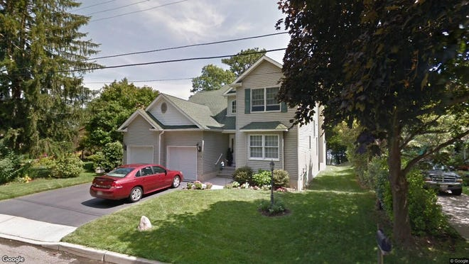 This Google Street View image shows the approximate location of 216 S{dot} Lakeshore Drive in Stafford. The property at this address changed hands in May 2019, when  Christina Ricahrd and  Carl Richards  bought the property from Leonard M and Claire L Tkach  for $400,000.