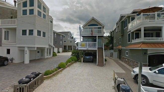 This Google Street View image shows the approximate location of 10 N{dot} Sixth St{dot} in Surf City. The property at this address changed hands in May 2019, when  David Henry Fand  bought the property from  Louise A Wyhopen  for $785,000.
