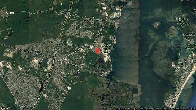 This aerial photo shows the approximate location of 39 Gibraltar Court in Barnegat. The property at this address changed hands in June 2019, when Melissa C Marra bought the property from Joseph Karkowsky for $80,000.