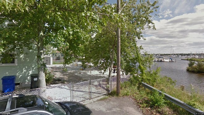 This Google Street View image shows the approximate location of 1 Breton Harbors Drive in Toms River. The property at this address changed hands in May 2019, when Mark C and Elizabeth M Paccione bought the property from Heinz W and Elise D Feier for $580,000.