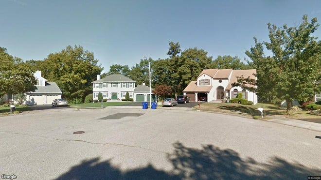 This Google Street View image shows the approximate location of 2066 Nakiska Court in Toms River. The property at this address changed hands in May 2019, when Chaim Z and Rachel Adler bought the property from David and Kathryn Freund for $460,000.