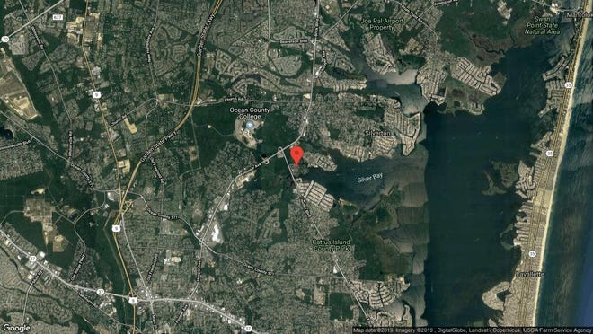 This aerial photo shows the approximate location of 716 Waters Edge Drive in Toms River. The property at this address changed hands in June 2019, when Kj2 Holdings LLC bought the property from Donald and Joan Potts for $175,000.