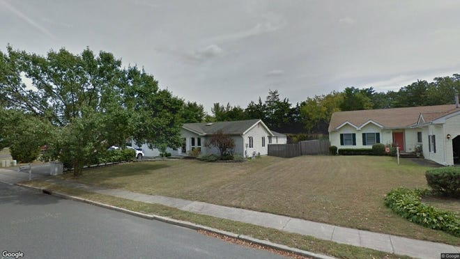 This Google Street View image shows the approximate location of 118 Joanna Drive in Toms River. The property at this address changed hands in June 2019, when Richard S and Kristin Heller bought the property from Laura Thatcher for $345,000.