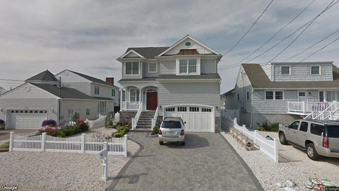 This Google Street View image shows the approximate location of 192 Pershing Blvd. in Lavallette. The property at this address changed hands in May 2019, when Dennis P and Debra A Eckels bought the property from Joseph J and Lori J Iavarone and others for $1,375,000.