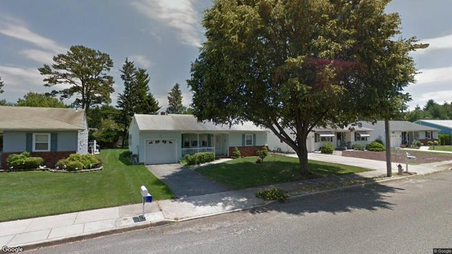 This Google Street View image shows the approximate location of 12 Nostrand Drive in Berkeley. The property at this address changed hands in May 2019, when Johanna and David Ricca bought the property from Lawrence, Gilbert F & Janet M Trust for $155,000.