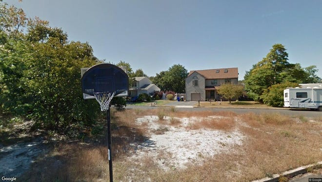 This Google Street View image shows the approximate location of 572 Iowa Ave. in Brick. The property at this address changed hands in May 2019, when Eugene Potts III and Jiliah L Potts bought the property from Nicholas and Velazquez B Amaral for $343,500.
