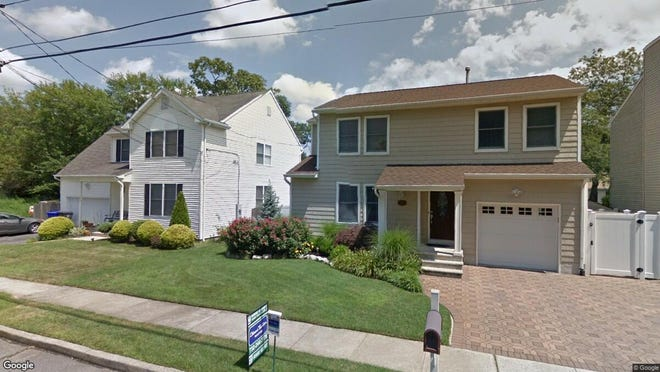 This Google Street View image shows the approximate location of 521 Vannote Drive in Brick. The property at this address changed hands in June 2019, when Denis D Antunes and Monira C Douban bought the property from Francis C and Tamara K Donadio for $324,000.