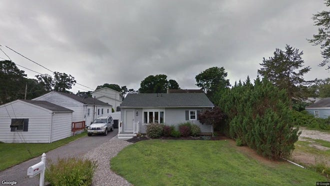 This Google Street View image shows the approximate location of 775 Barberry Drive in Brick. The property at this address changed hands in June 2019, when D Gutmore and R J Fernicola-Gutmore bought the property from Donna Marie Knight for $257,500.