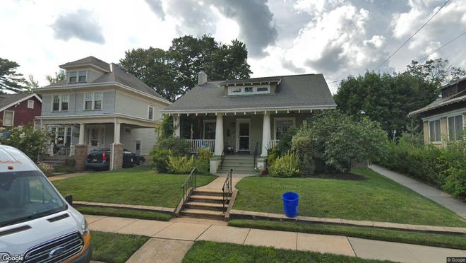This Google Street View image shows the approximate location of 233 Lawrence Ave. in Highland Park. The property at this address changed hands in May 2019, when Nicholas L Beaird and Rebecca Jackson bought the property from Taylor Huttner and Jean Sinzdak for $431,000.
