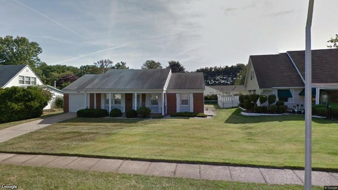 This Google Street View image shows the approximate location of 30 Eddington Lane in Willingboro. The property at this address changed hands in January 2019, when Tom E and Evelyn L Sanders bought the property from Levendusky Dorothys' estate for $145,000.