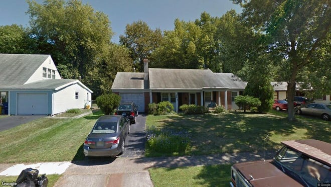 This Google Street View image shows the approximate location of 261 Evergreen Drive in Willingboro. The property at this address changed hands in April 2019, when Simmons Real Estate Holdings LLC bought the property from Lawson, Mattie P Living Trust for $79,000.
