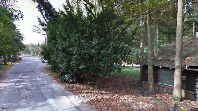 This Google Street View image shows the approximate location of 83 Powhatan Tr in Medford Lakes. The property at this address changed hands in May 2019, when Anthony Bonfiglio and Meredith Coleman bought the property from Jean B Rawley for $150,000.